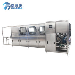 Macchina di rifornimento automatica linea di produzione dell'acqua minerale bottiglia/20L da 5 galloni/capsulatrice riempitore di Rinser