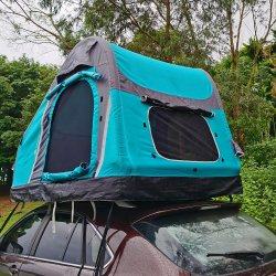 4 Temporada off road 2 persona VEHÍCULO 4X4 de la azotea de carpa de Camping carpa en la azotea de coche inflables