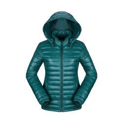 Commerce de gros Mesdames fashion/occasionnel/extérieur/l'hiver Veste Puffer Sexe plaine ultra légère usure extérieure/cuir/Goose Down Jacket