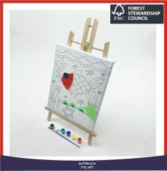 거실 홈 장식 10X10cm를 위한 DIY 유화 화포 아이 아이 그림 색칠 벽 예술