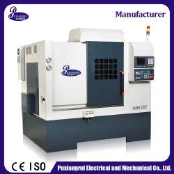 제조자 기우는 침대 수평한 자동적인 경제 4 축선 PT46y-X 금속 절단 자동차 부속을%s 도는 맷돌로 가는 교련 CNC 선반 기계
