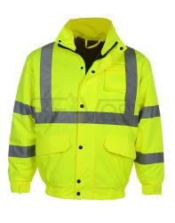 Segurança reflexivo de inverno chuva fina PPE Desgaste Hi Viz vestuário de trabalho