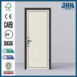 De solides de l'intérieur en Mélamine MDF Prehung Salle de bains en bois contreplaqué (JHK porte-MD07)