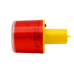 Светодиодный индикатор солнечной мигающие сигнальные трафик конус сигнал безопасности дорожного освещения