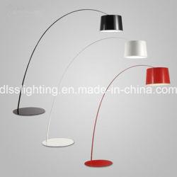 Современный простой большой алюминиевая крышка постоянного крытый Decoartion напольная лампа