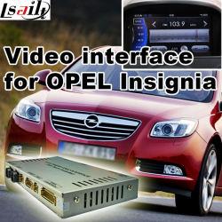 Interface vidéo multimédia pour Opel Insignia (GPS Navi, vidéo, cast, le parking de l'écran Guidenline)
