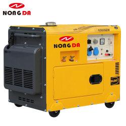 2.5KVA 5 КВА 190A 230A 250 портативный бесшумный дизельный генератор сварочного аппарата