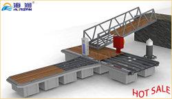 Buen precio Marine caminar Dock pontón flotante Modular plataformas pasillo