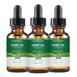100% reines organisches volles Spektrum Cbd Hanf-Öl für Schmerz-Entlastung