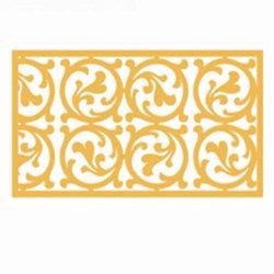 Decoratie van de Muur van de Voorzijde van de laser de Knipsel Geperforeerde met het Gesneden Bekledingspaneel van het Aluminium