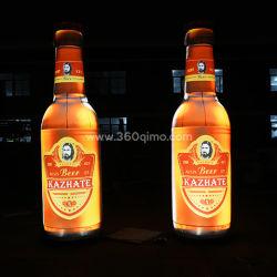 Opblaasbare bierflessen op maat voor reclame en promotie