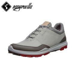 Производители инструмента гольф обувь с натуральной кожи и Spikeless единоличного или резиновые+TPU+MD + водонепроницаемый Sock