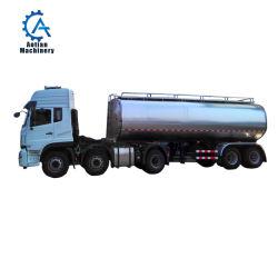 30 toneladas de leche Semi Hung preservación el transporte de camiones tanque Ss