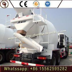 具体的なセメントの混合のトラックのミキサーのトラックを修理するHOWO 6X4の道