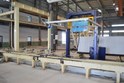 Sterilisierte mit Kohlensäure durchgesetzte konkrete Ziegelstein-Maschine für die Wand-materielle Herstellung
