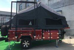Nouvelle conception de l'avant Flip tente Tente-roulotte de plein air de remorque