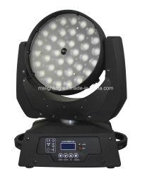 54X10W RGBW 4in1 LED 세척 이동하는 맨 위 급상승 빛