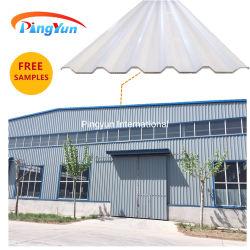 Plein de 1000 $ moins 10 $ de la chaleur en plastique résistant aux bardeaux de toit de tuile de toit en PVC creux