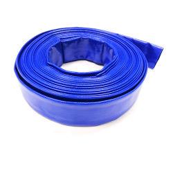 Soft / Plástico flexible Layflat Agricultura Riego manguera de drenaje 1 1.5 2 3 4 5 6 8 10 12 16 pulg.
