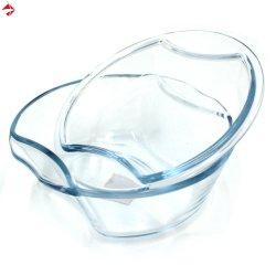 Forno di resistenza termica/piatto di servizio di vetro impostato per cristalleria/articolo da cucina/Bakeware