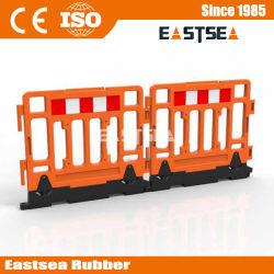 Тяжелая база HDPE Пластиковые безопасности Забор Фехтование