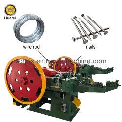 Clou automatique Making Machine à faire des clous commune/acier fil machine de clou de fer
