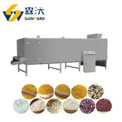 Горячая продажа простой работы бумагоделательной машины для уборки риса рис в области питания машины экструдера для производства риса