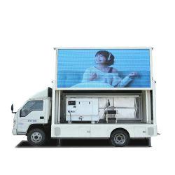 P6 P8を広告するための屋外の可動装置LEDの掲示板のトラックForland (手段によって取付けられるLEDスクリーン)。 P10フルカラースクリーン、4800X2080mm