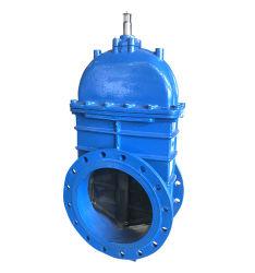 Ferro dúctil extremidades flangeadas ou controle de haste ascendente válvula gaveta de Água