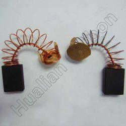 Оптовая торговля 641 шунтированные провода драйвер сверла шлифовальной машинкой кофемолка цепи пилы с помощью щетки графит/Китайских угольных щеток в сборе 641