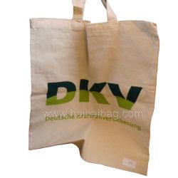 Eco-Friendly recordações Lona de Algodão saco, Sacola grande de Promoção Comercial, Saco de compras orgânico (HBCO-47)