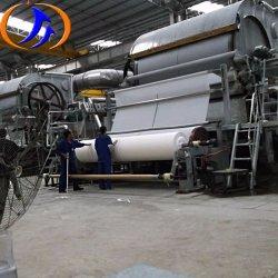Das Papiertoiletten-Seidenpapier aufbereiten, das Maschine herstellt