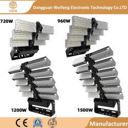 Foco Reflector exterior IP66 Resistente al agua 120W 240W 360W 480W 720W 960W 1200W 1500W 134400 Lumen foco LED de luz del estadio