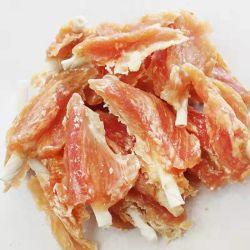 نصف شريحة من الأراميد مع محار الدجاج للحيوانات الأليفة