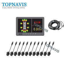Het AntibotsingsSysteem met lage snelheid van de Sensor van de Waarschuwing voor de Vrachtwagen van de Stortplaats