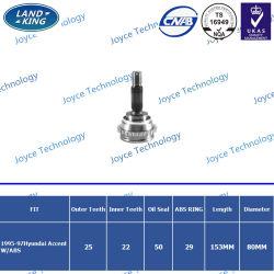 Les pièces de métal auto voiture populaire bon CV commun de pièces de rechange pour la Hyundai Accent