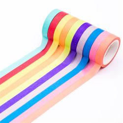 La peinture décorative ruban de marouflage papier avec plusieurs couleurs
