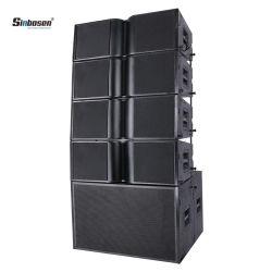 Sinbosenの健全なスピーカーKa210の可聴周波ラインアレイによって動力を与えられる拡声器DJ装置18インチSubwooferの10インチPAシステムスピーカー