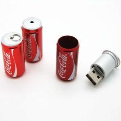 Boisson peut lecteur Flash USB pour Logo Coustomized