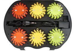 Heiße Verkaufs-Verkehrs-Barrikade-blinkendes warnendes Leuchtfeuer-Licht LED