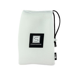 Pequenos personalizados promocionais Saco de malha para roupa suja, Bolsa de compras de malha de nylon