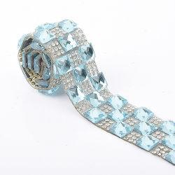 Fashion Rhinstone Hot Fix het afsnijden VAN EEN Rang Rhinestone banding voor Kleding Schoenen Tassen