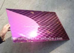 Hot Sale Anti-Fingerprint couleur Tôles en acier inoxydable dans prix d'usine