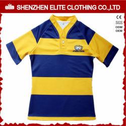 Оптовая торговля дешевые клуб Professional Сублимация полиэстер рубашка регби (ELTRJJ-154)