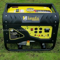 Promotion 7kVA essence portable électrique silencieux générateur à essence