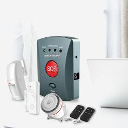 2016 WirelessGSM Sos престарелых Персональная чрезвычайная ситуация системы сигнализации и кнопка вызова скорой помощи 007eg