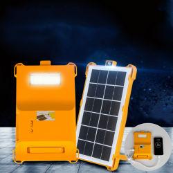 La vente directe d'usine de plastique Camping en plein air Le sac solaire lampe 5 Watts