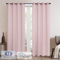 Polyester tissu coloré Sheer grs/ Rideau - #2011