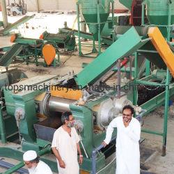 De gebruikte Recyclerende Verpletterende Fabrikant van de uitrusting /Tire die van de Band de Verpletterende Leverancier van de Installatie recycleren