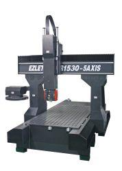Fornecedor de fábrica na China de qualidade superior do eixo 5 Máquina CNC Madeira Aluminum-Processing Máquina Router CNC Ez 1500X3000 de tamanho de tabela
